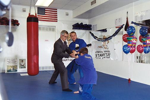 2002 Freestyle Jiu Jitsu Black Belt Ceremony