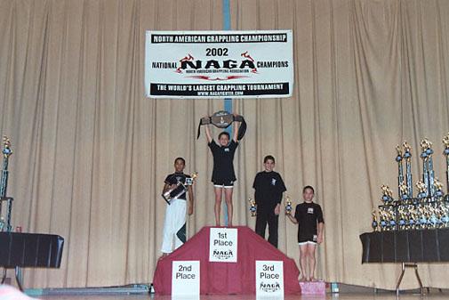 2002 NAGA Grappling Champion