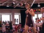 Rhode Island College Wrestling Pin
