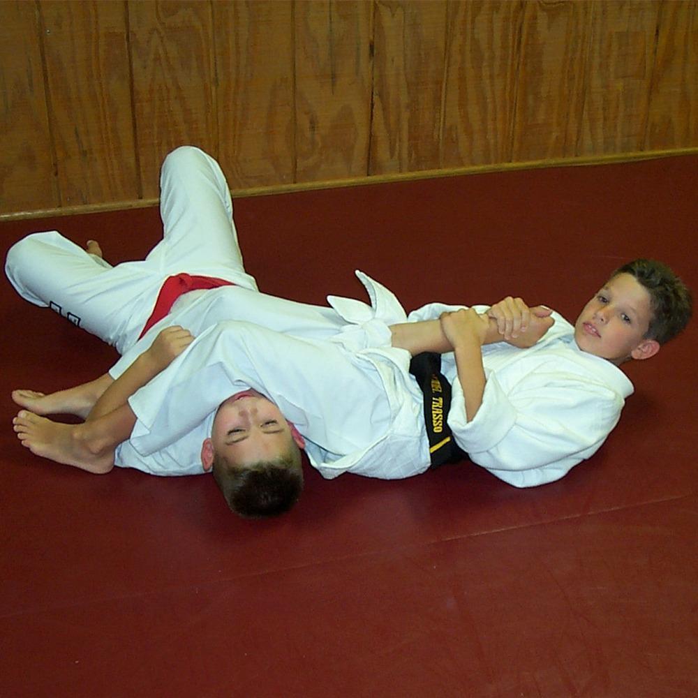 Michael Trasso doing Jiu Jitsu as a young kid