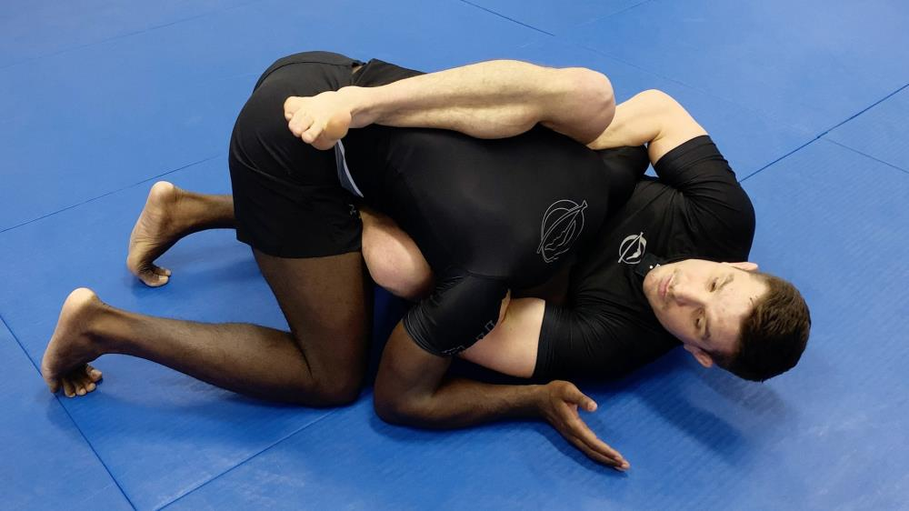Ep. 36 - Front Headlock Entry To Arm In Guillotine Choke Finish